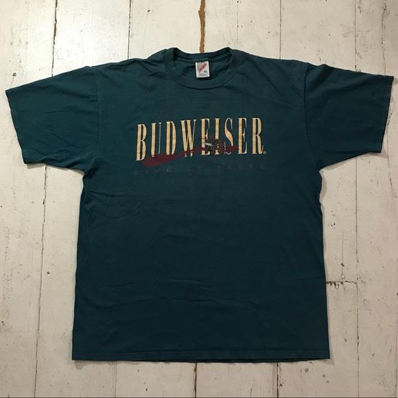 3e87de34 Budweiser Shirts | Vintage Tee | Poshmark